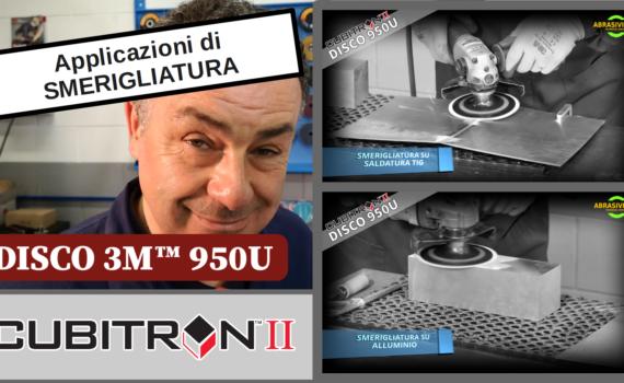 Nuovo Disco 950 U Applicazioni di SMERIGLIATURA