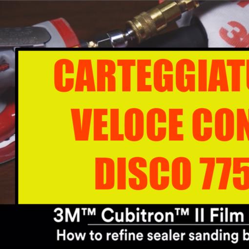 Disco 775L Carteggiatura veloce e pulita grazie alla potenza del CUBITRON II