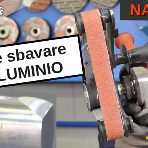 Come sbavare l'alluminio
