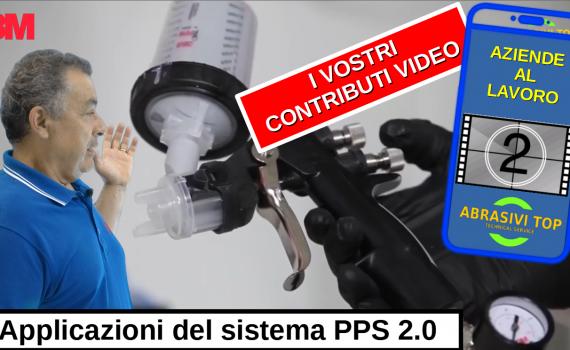 Aziende al lavoro - Applicazioni del nuovo sistema di verniciatura a spruzzo PPS 2.0