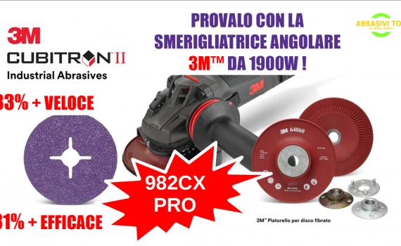 3M™ Cubitron™ Fibre Disc 982CX Pro