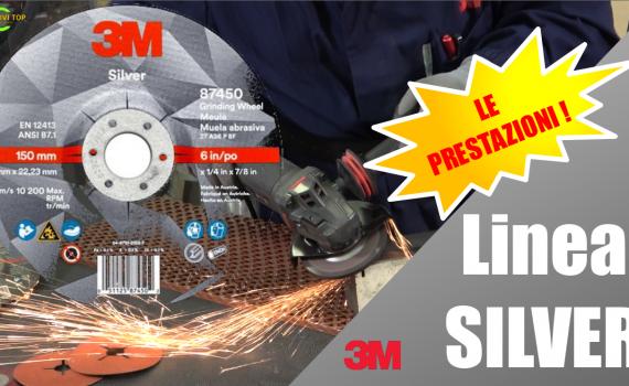 Le performance dei dischi abrasivi, linea SILVER, per i grandi utilizzatori