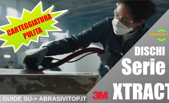Carteggiatura senza polvere con i dischi della serie 3M XTRACT™