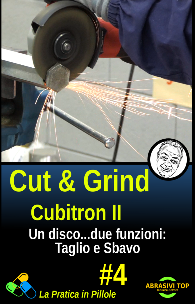 Disco ibrido da TAGLIO e SBAVO, Cut & Grind