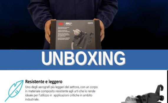 Aerografo 3M - Unboxing