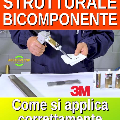 Come si applica l'adesivo strutturale bicomponente 3M