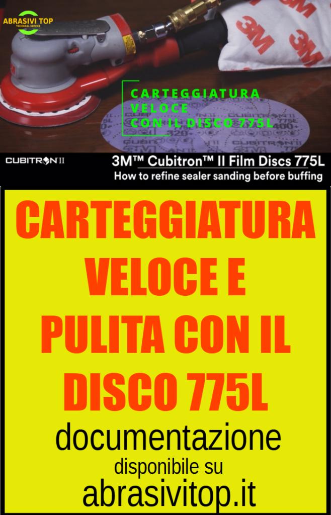 Disco 775L Carteggiatura veloce e pulita