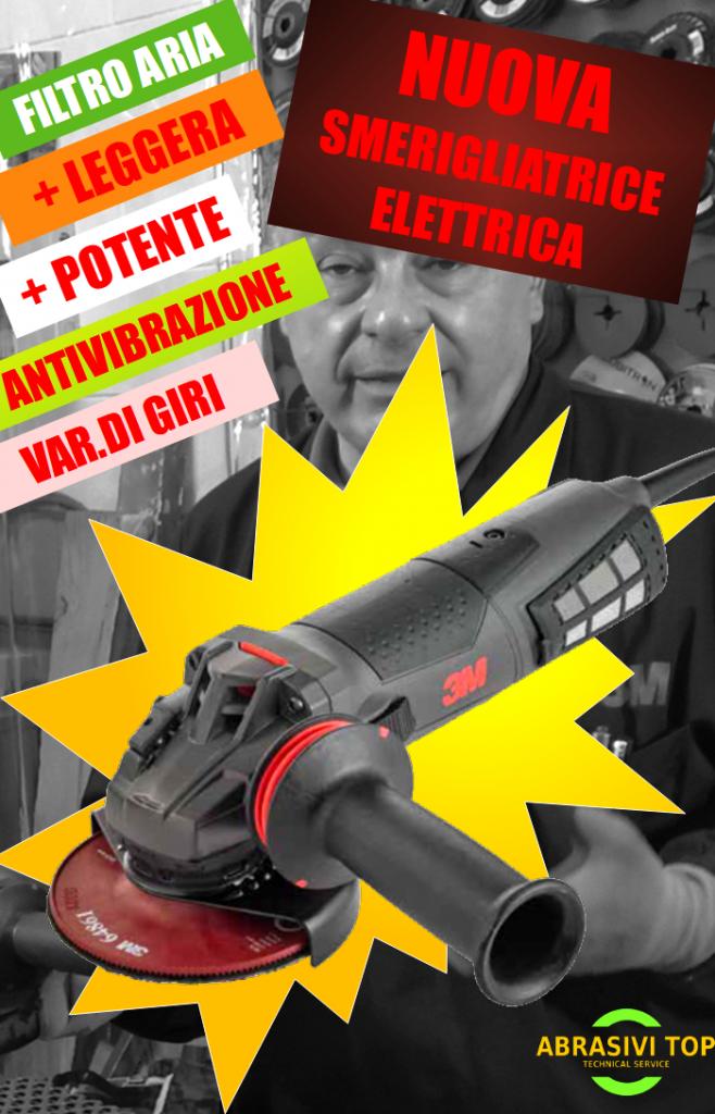 Nuova smerigliatrica elettrica 3M